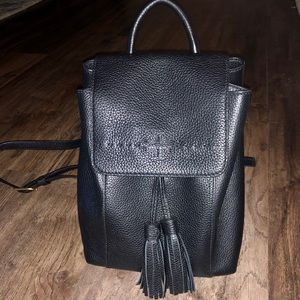 Gently used Tory Burch Backpack.